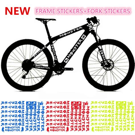 Bike Frame Stickers