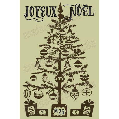 christmas tree 18 in stencil joyeux noel with tree 12x18 stencil