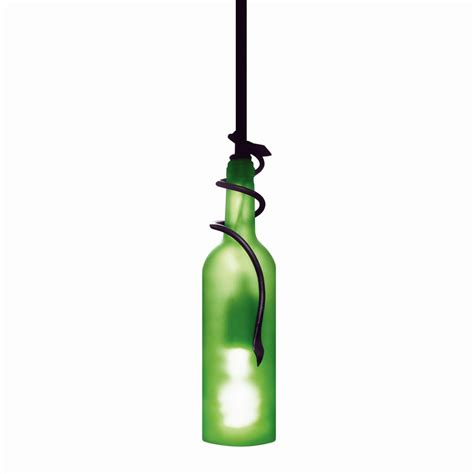 Wine Bottle Pendant Light Vinotemp Ep Light01 Wine Bottle Ceiling Light Fixture Atg Stores