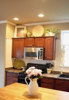 freshomes 1000 ideas about above kitchen cabinets on pinterest