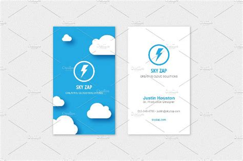 cloud business card template 25 cloud business card templates free premium
