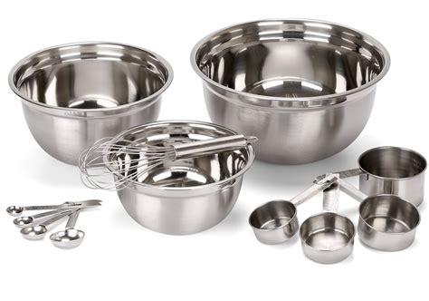 Estilo Set estilo 12 stainless steel mixing bowls includes