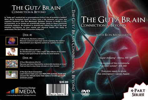 gut brain secrets part 1 food bad food nutrition and toxins in food gmo s and glyphosate volume 1 books gut brain connection beyond 4 part dvd series shipping