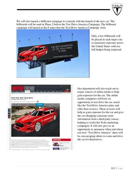 Tesla Marketing Strategy Tesla Marketing Plan