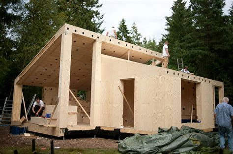 easy to build homes snap fit construction from facit homes