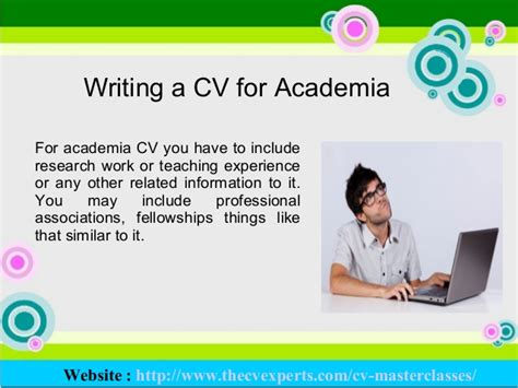 top curriculum vitae writing tips