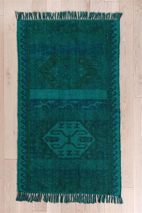 Tapis Outfitters by Outfitters Magical Thinking Overdyed Kilim Rug