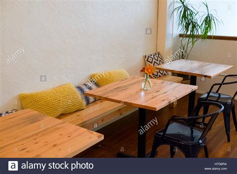 Coffee Shop Bench by Bench Seating At A Coffee Shop Restaurant With Small Cafe