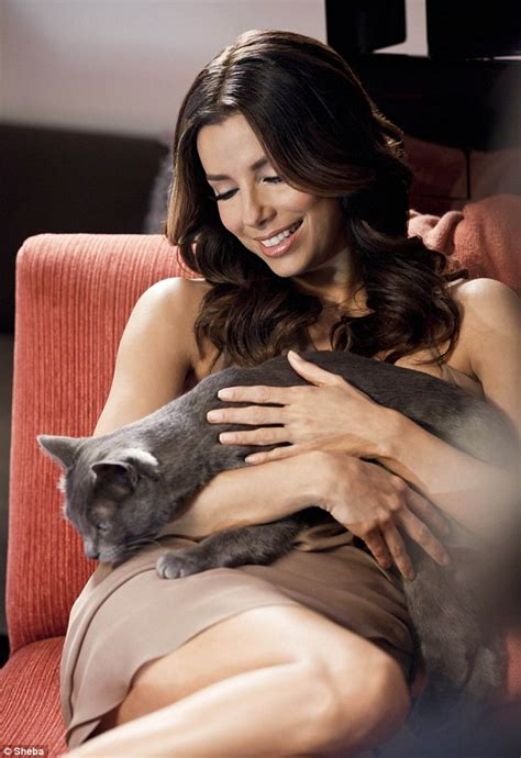 cat food actress eva longoria shows her glamorous side as she stars in the
