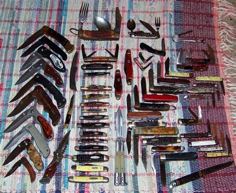 knife collections knife collecting