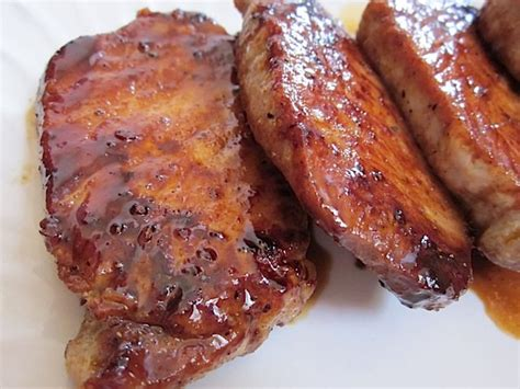 pork chops glazed pork chops budget bytes