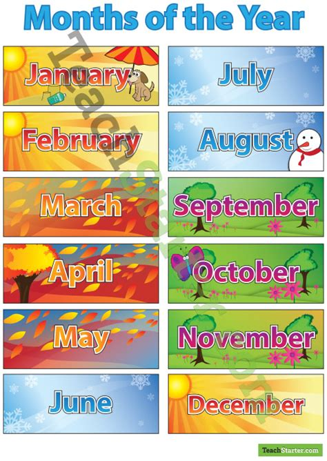 theme for education month 2013 months of the year poster southern hemipshere no christmas