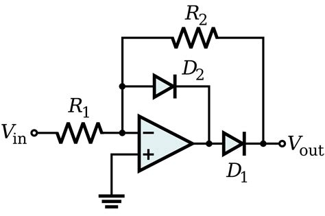 diode bridge op circuit file op precision rectifier improved svg wikimedia commons