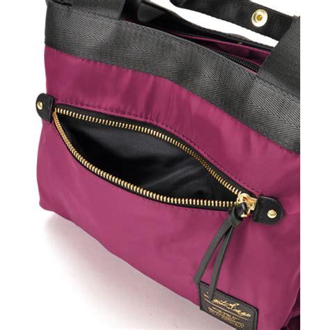 Tas Wanita Anello Mini Handbag A1250 16 legato largo tas selempang tote polyester black jakartanotebook