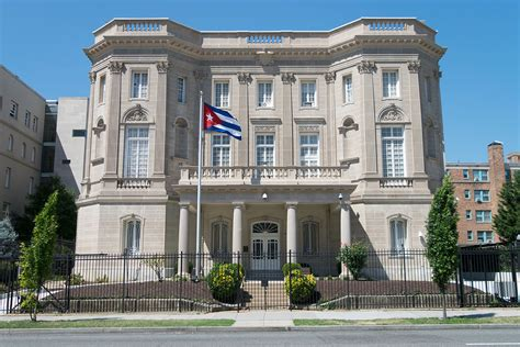 Cuban Interests Section In Washington Dc by Embassy Of Cuba In Washington D C