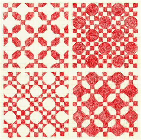 Snowball Quilt Pattern Variations | joy for grace snowball and nine patch four variations