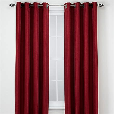 144 inch curtains buy reina 144 inch grommet top window curtain panel in