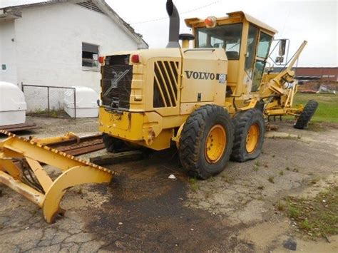 nc auctions  volvo   motor grader shop  fayetteville nc
