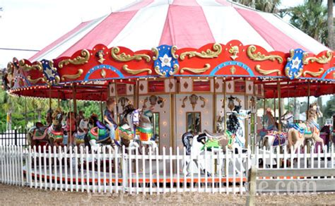 where does the st go st augustine carousel at davenport park simply st