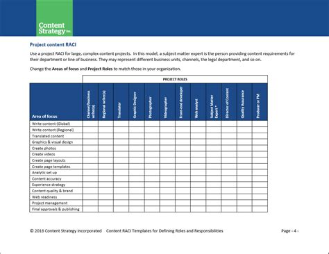 responsibility assignment matrix template excel kvgxr