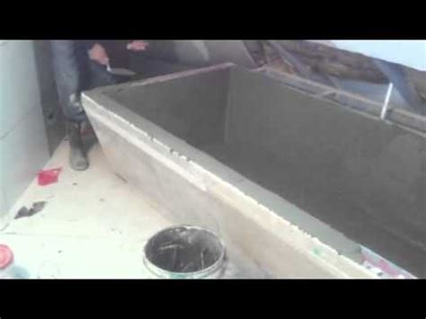 concrete bathtub diy concrete bathtub youtube