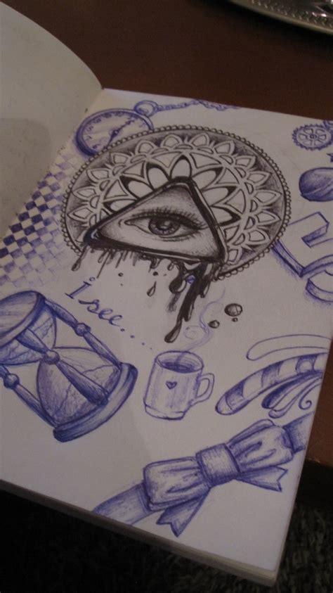 doodle pen one show ballpoint pen sketch doodle my own creations