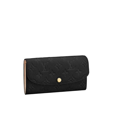 Mm Emily Black emilie wallet monogram empreinte leather small leather