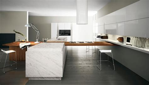 modern kitchen modern kitchen with luxury wooden and marble finishes