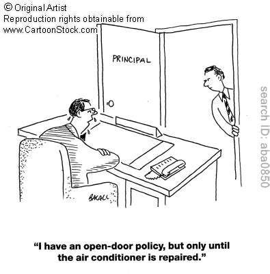 What Is Open Door Policy by Fundas Corporate Style Bhasker S