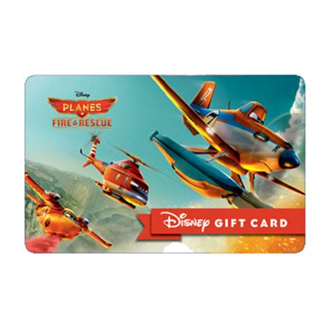 Rescue Gift Card - your wdw store disney collectible gift card planes fire rescue fearless heroes