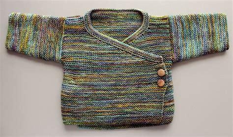 Knitting Pattern Baby Kimono Sweater | garter stitch baby kimono by joji locatelli malabrigo