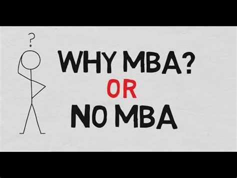 Why Mba Now by Why Mba Or No Mba