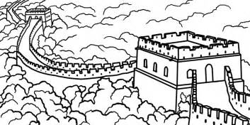 great wall of china clipart 7 clipartbarn
