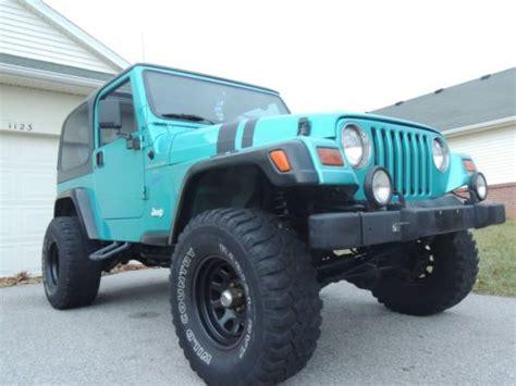 Used Jeep Wrangler Toledo Ohio Find Used Jeep Werangler Tj Sport 4 0l I6 In Toledo Ohio
