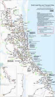 coast map gold coast transport skyscrapercity