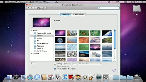 apple wallpaper changer how to change your desktop background in mac os x youtube
