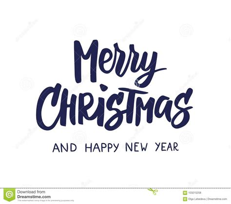 merry christmas  happy  year text holiday  quote isolated  white great