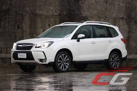 review 2016 subaru forester xt philippine car news car