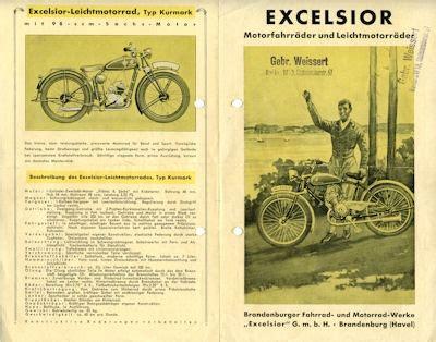 Motorfahrrad Deutschland by Excelsior Motorfahrr 228 Der Leichtmotorr 228 Der Programm Ca