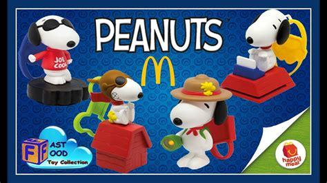 Happy Meal Snoopy Peanut Periode I 2018 peanuts snoopy s world mcdonald s happy meal toys