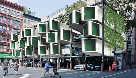 sustainable apartment design uplift creates a home out of a parking space inhabitat