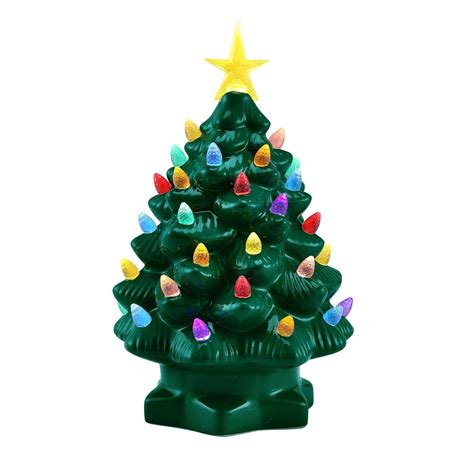mr christmas 10 in green nostalgic christmas tree with