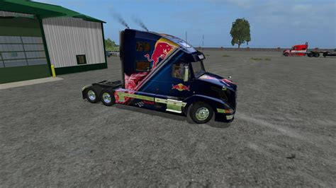 volvo vnl    fs farming simulator  mod fs  mod