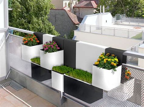 Planters For Balconies by Just Let Me Slip Something On Balcony Gardens
