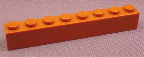 Lego Part 3008 4263776 Reddish Brown Brick 1x8 lego 3008 orange brown 1x8 brick 4400 4405 4690 4728 harry potter rons rescued treasures