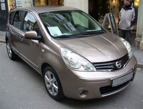nissan note 2009 file nissan note tekna caf 233 latte facelift 2009 jpg