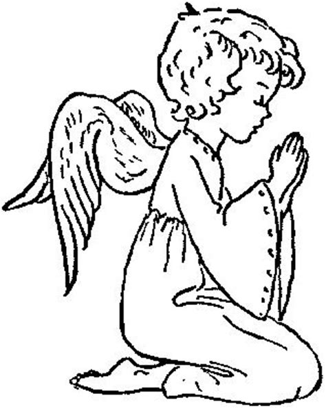coloring page guardian angel prayer guardian angel prayer coloring page вампиры 666