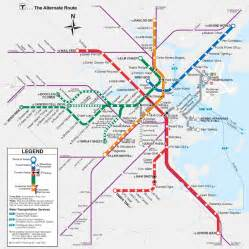 Map Of Boston T by Boston Anagram T Map