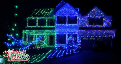 home christmas lights blue beautiful blue christmas