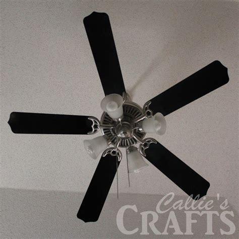 ceiling fan makeover callie s crafts ceiling fan makeover